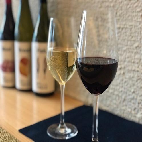 【サービス】KEY TERRACEオリジナルグラスワイン