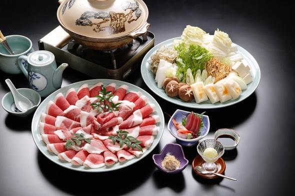 【秋冬旅セール】和歌山でボタン鍋(シシ鍋)食べるなら「かじか荘」☆名物ぼたん鍋プラン