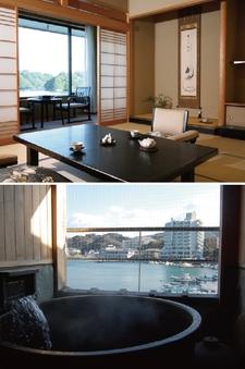 露天風呂付客室 新館 季和海(ときなごみ)和室12畳