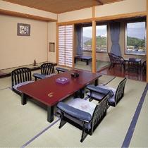 海の眺望と広々和室の別館 華彩香(はなあやか)和室12.5畳+4.5畳
