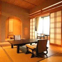 陶器露天と桧内風呂付 新館 季和海(ときなごみ)和室12畳+6畳