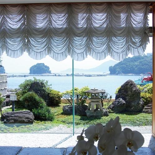 胡蝶蘭通りからの景色