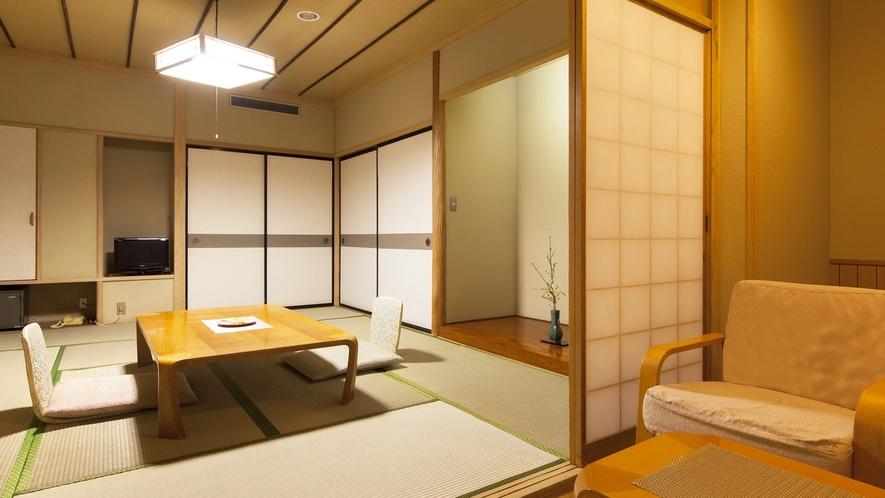 客室一例(和室10畳+広縁付)