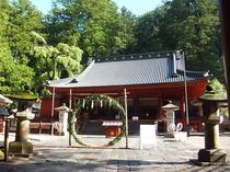 二荒山神社(ホテルから徒歩で8分)