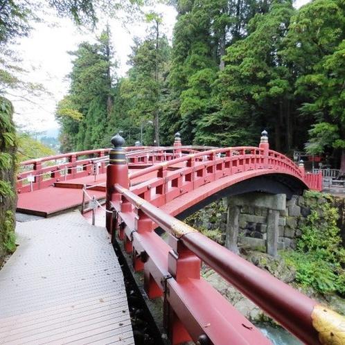 神橋(ホテルから徒歩で7分)