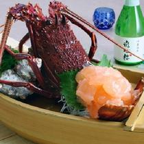 伊豆の会席膳(料理一例)
