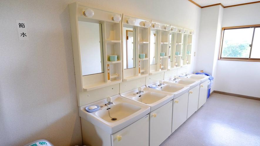 *[共同洗面所]皆様が気持ちよくお使いいただけるようご協力お願い致します。