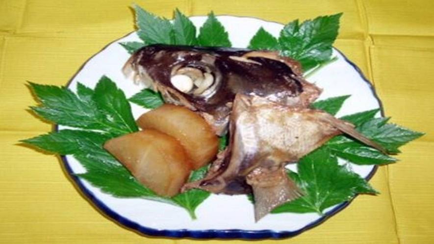 目鯛のアラ煮