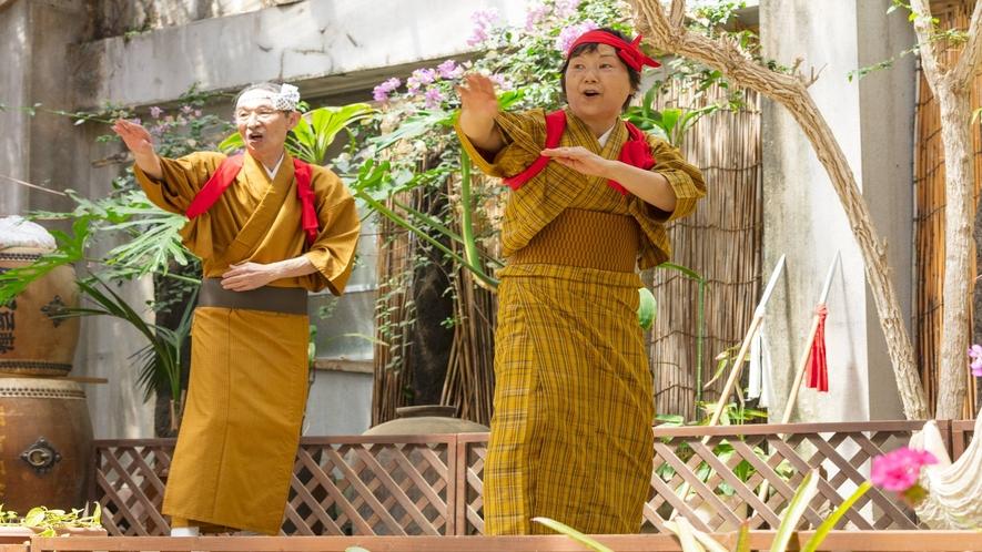 *樫立踊り体験 郷土芸能を体験してみませんか? 一社)八丈島観光協会
