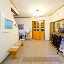 *[玄関]皆様をお出迎えする当館の玄関とフロント