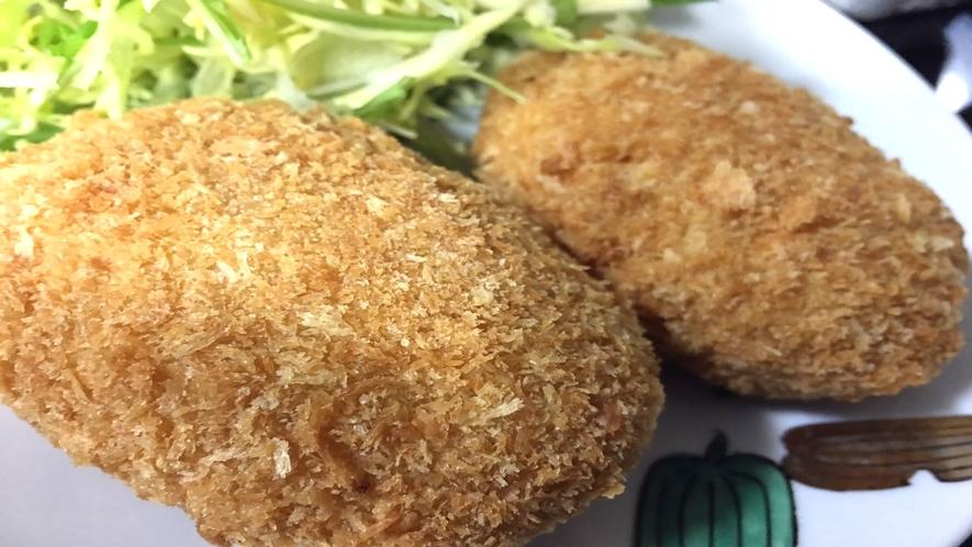 *[お料理一例]地元食材★甘く適度なぬめりが旨い!八丈里芋コロッケ