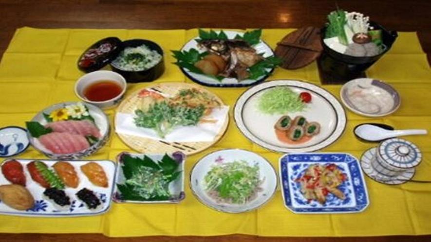 夕食総合料理