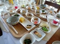 ホテル朝食(和食)