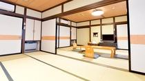 *【部屋一例】和室24畳 2間つづきなので、小さなお子様連れにもぴったりです!