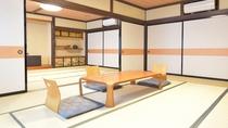 *【部屋一例】和室24畳 グループや家族でご利用ください。