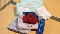 *【アメニティ】歯ブラシ・浴衣などをご使用いただけます。