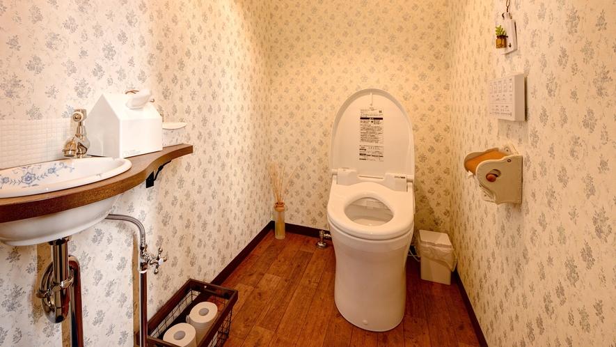 *【女性トイレ】 2018年にかわいらしくリニューアル♪一味違った雰囲気でお過ごしください。