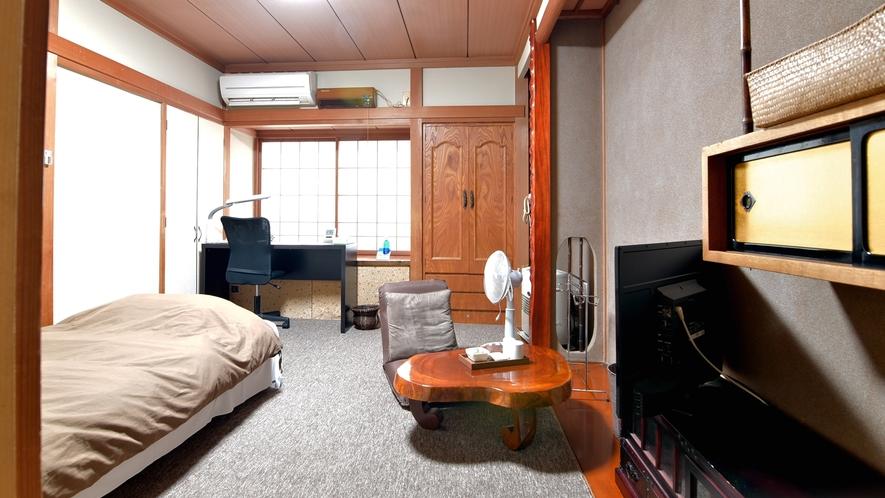 *【部屋一例】 洋室シングル ビジネス利用の方でもお家に言うような感覚でくつろげます。