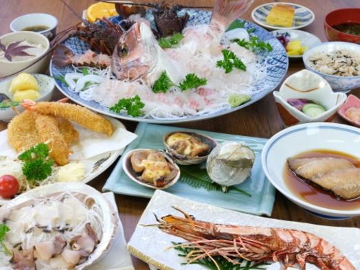 ●漁村・国崎●伊勢エビ鮑を食べようぜ福の膳コース