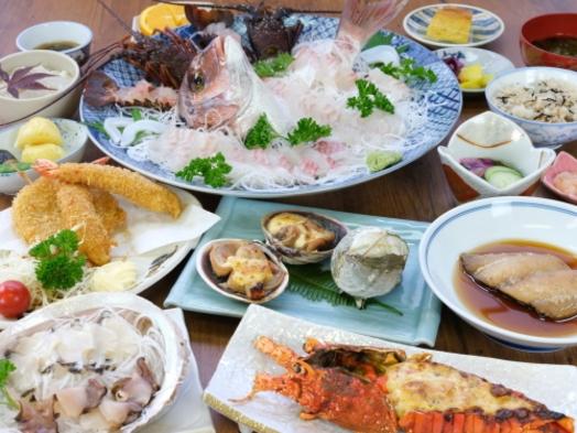 ●漁村・国崎●伊勢エビ鮑を食べようぜ福の膳コースDX