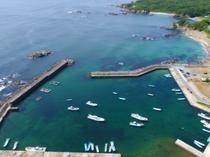 国崎漁港ドローン撮影