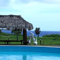 【ホテルからの眺め】目の前は海!
