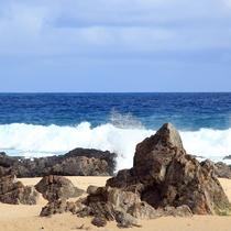 【手広海岸】車で約25分!多くのサーファーで賑わうサーフィンのメッカです!