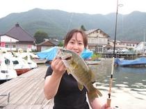 木崎湖バス釣り