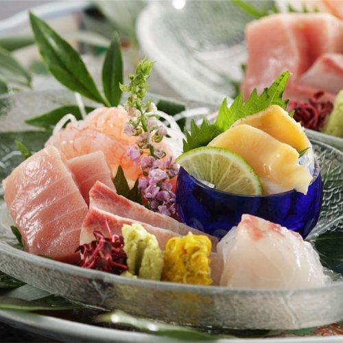 【秋料理】季節のお造り 五点盛り