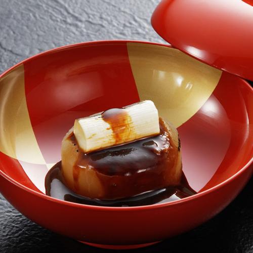 冬の会席料理『夢』一例