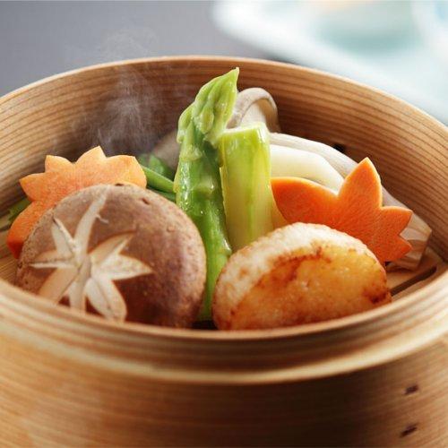 【秋料理】五泉の野菜色々蒸し