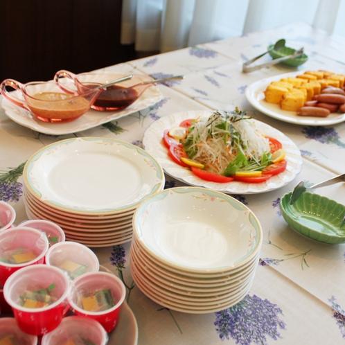 朝食ミニビュッフェ