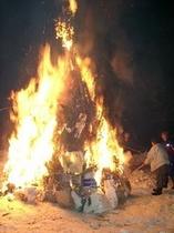 湯野上火祭り