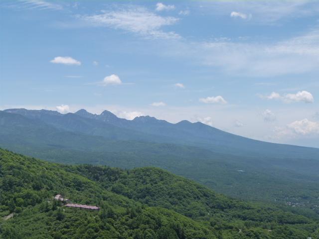 【春】6月 八子ケ峰西峰(1833m)から望む八ヶ岳です