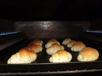 朝食の手作りパン♪