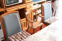 子供用の椅子あります