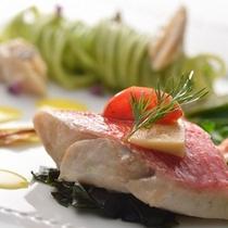 2013'桜ディナー 魚料理