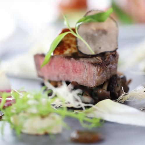 グレードアップ 肉料理一例