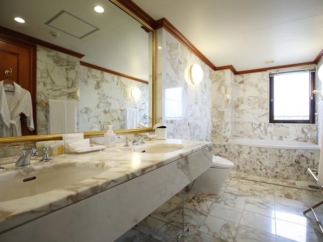 洋室スイートルーム バスルーム
