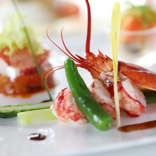 グレードアップディナー 魚料理一例