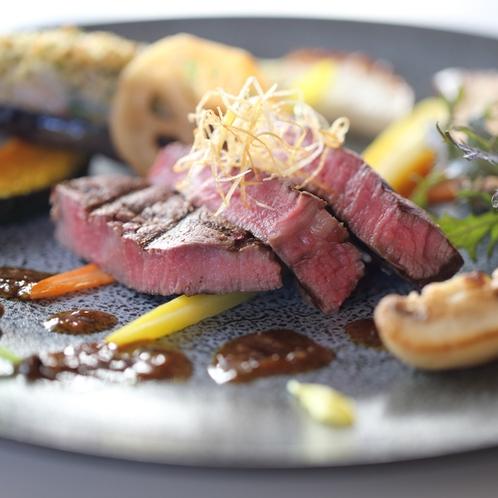 グレードアップ 鎌倉フレンチディナー 肉料理一例