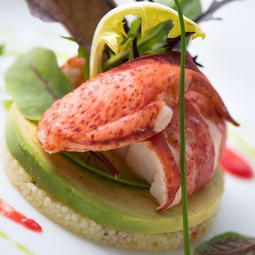 グレードアップ鎌倉フレンチ 魚料理一例