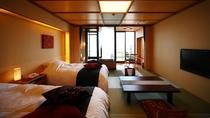 半露天風呂付き客室「優雅」和洋室タイプ