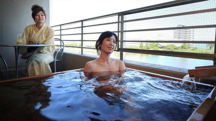 びわの風露天風呂