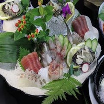 アワビーノ料理(お造りイメージ)