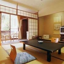 白浜館で1番予約が多いお部屋おもてなしとおくつろぎの和室8畳