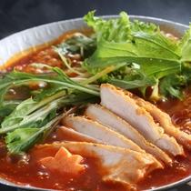 梅鶏トマト鍋