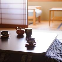 *客室イメージ/冬支度♪客室には炬燵をご用意致します。