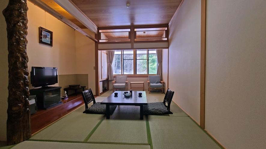 【本館8畳】当館で一番リーズナブルなお部屋タイプです。