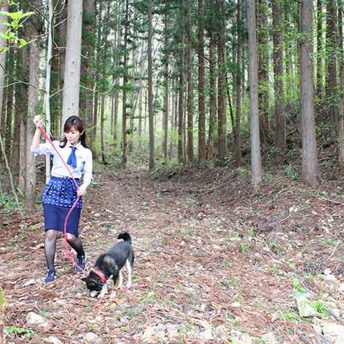 愛犬ココアのお散歩